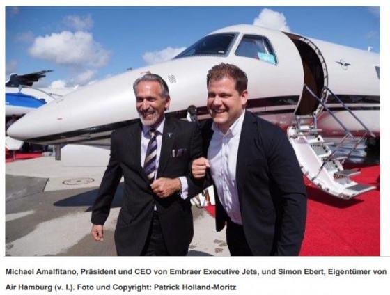 Air Hamburg bestellt vier Legacy 650E