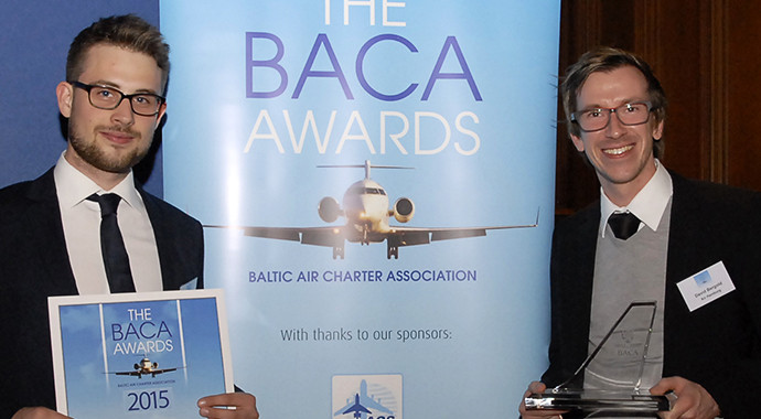 AIR HAMBURG is awarded with BACA Global Excellence Award