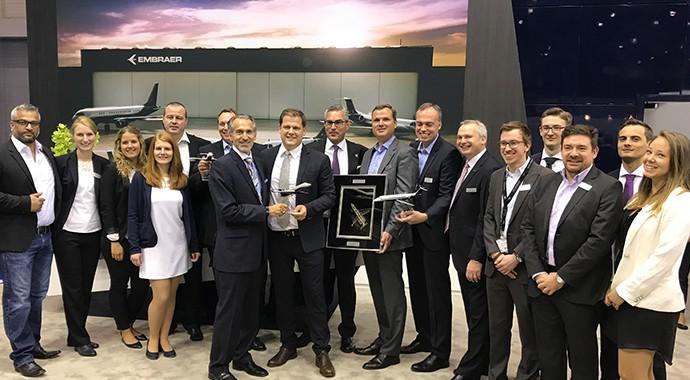 AIR HAMBURG führt die Legacy 650E auf dem Chartermarkt ein