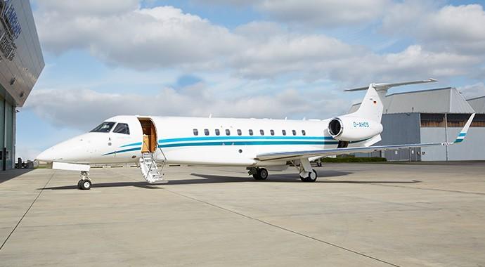 Eine weitere Legacy 650 für AIR HAMBURG