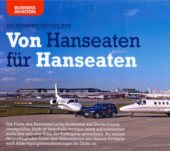 Die Flotte des Businesscharter-Anbieters aus Deutschland