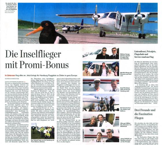 Der Inselflieger mit Promi-Bonus